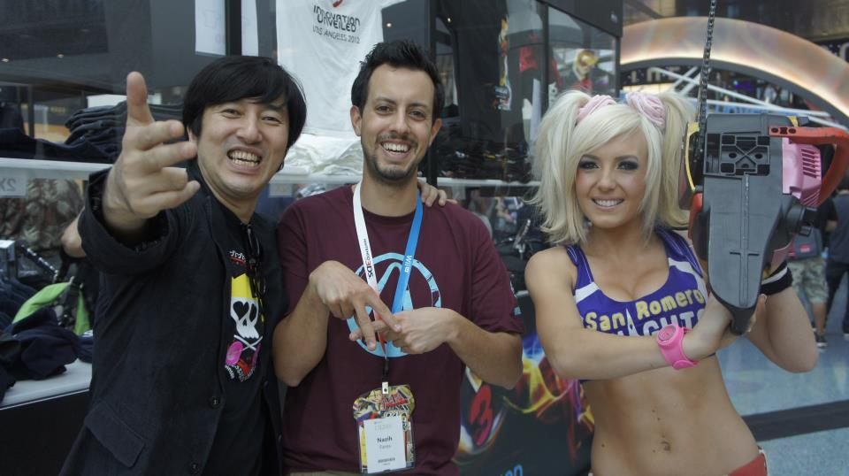Don't know who is more of a gaming celebrity: Jessica Nigri or Suda 51?